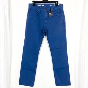 GAP 1969 Blue Slim Fit Pants 32x30